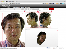 Head Modeler の画面2