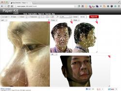 Head Modeler の画面4