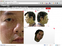 Head Modeler の画面3