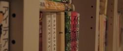 家の本棚の一部。雑然としております…